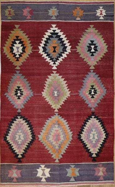 R9102 Anatolian Vintage Kilim Rug