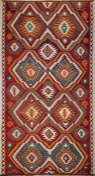 R8021 Anatolian Vintage Kilim Rug