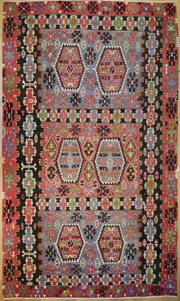 R8037 Anatolian Vintage Kilim Rug