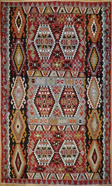 R8040 Anatolian Vintage Kilim Rug