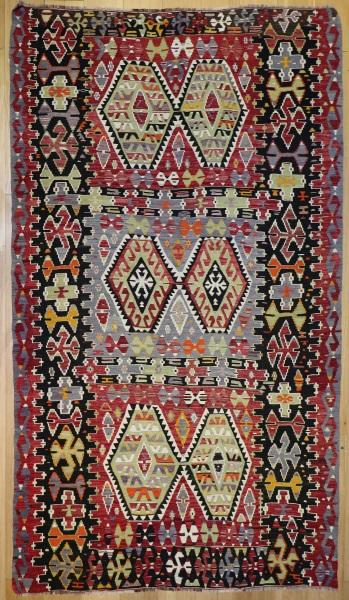 R8046 Anatolian Vintage Kilim Rug