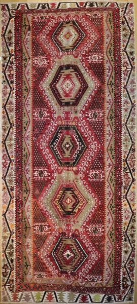 Anatolian Vintage Kilim Rug R9100