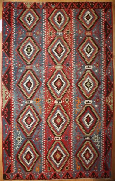 Anatolian Vintage Large Kilim Rugs R8011