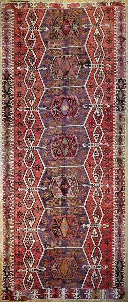 R7666 Antique Adana Kilim Rug