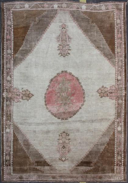 R4476 Antique Anatolian Carpet