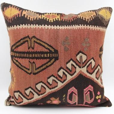 L611 Antique Anatolian Kilim Cushion Cover