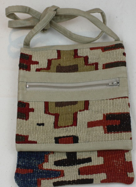 Antique Anatolian Kilim Handbag H118