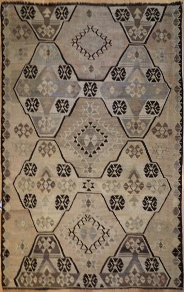 R6342 Antique Anatolian Kilim Rug