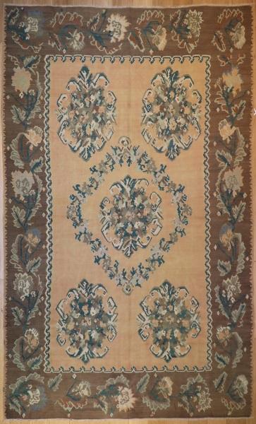 R4146 Antique Armenian Kilim Rug