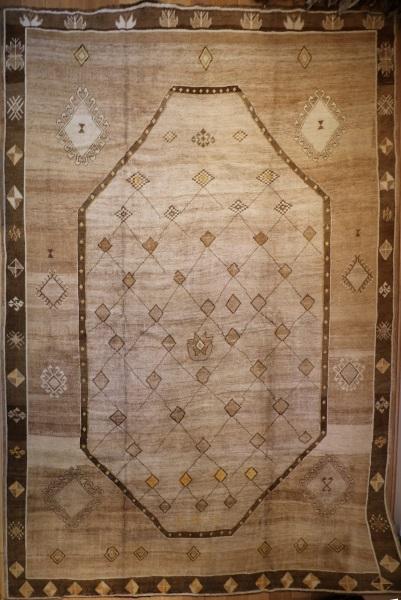 R4466 Antique Bakhshaish Persian Carpet