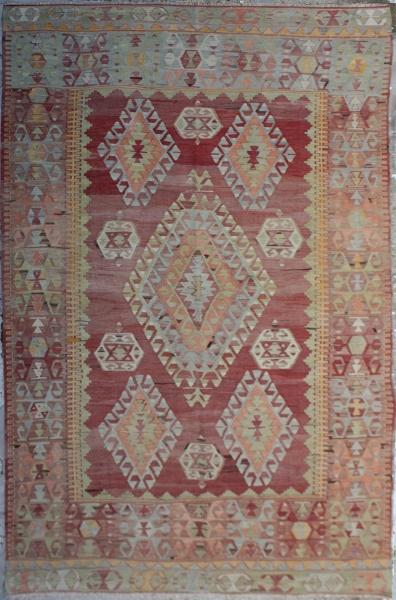 R6557 Antique Cal Kilim