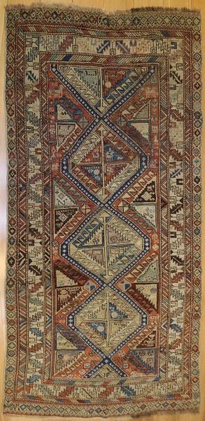R1217 Antique Caucasian Carpet
