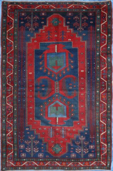 Antique Caucasian Kazak Carpet R2836