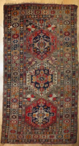 Antique Caucasian Kazak Carpet R7770