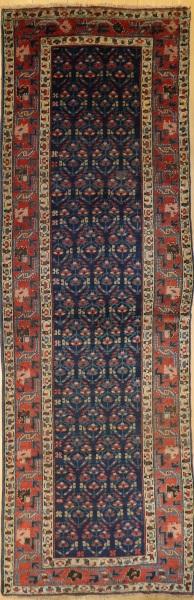 R7774 Antique Caucasian Kazak Carpet Runner