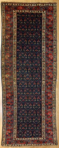 Antique Caucasian Kazak Carpet Runner R7771
