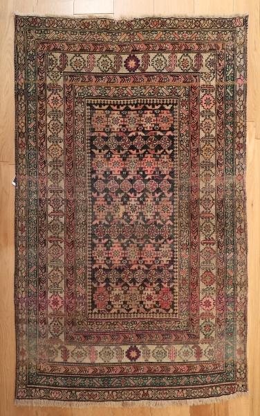 R1251 Antique Caucasian Kuba Chichi Rug