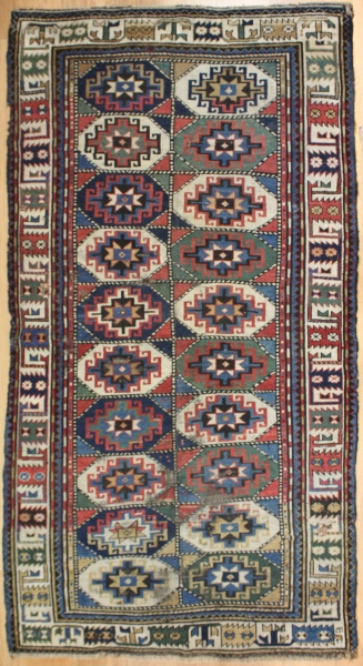 R7751 Antique Caucasian Moghan Carpet