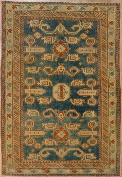 R5105 Antique Caucasian Rug