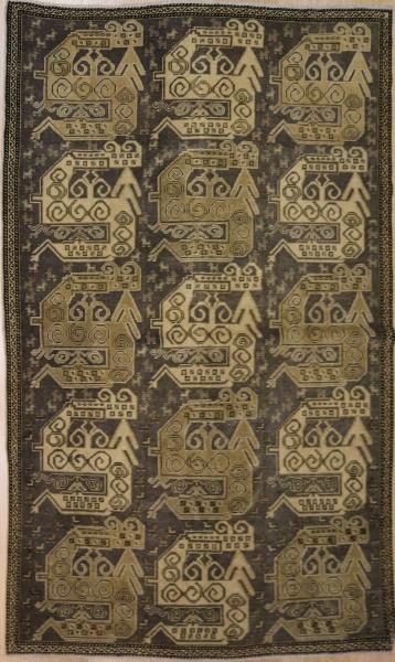 R458 Antique Caucasian Shirvan Rug