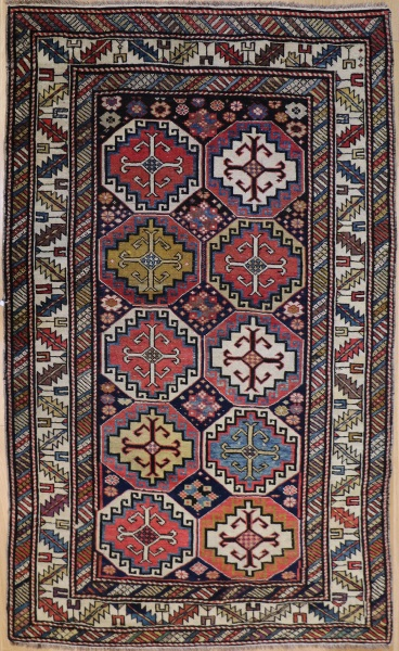 Antique Caucasian Shirvan Rug R1145