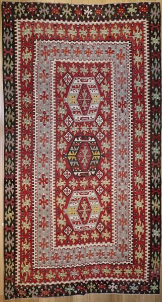 R6369 Antique Esme Kilim Rug