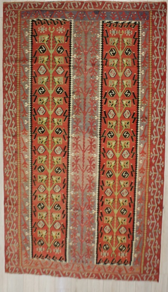 R7366 Antique Esme Kilim Rug
