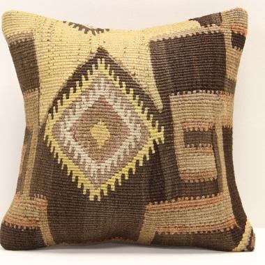 S310 Antique Handmade Turkish Kilim Pillow Cushion Cover