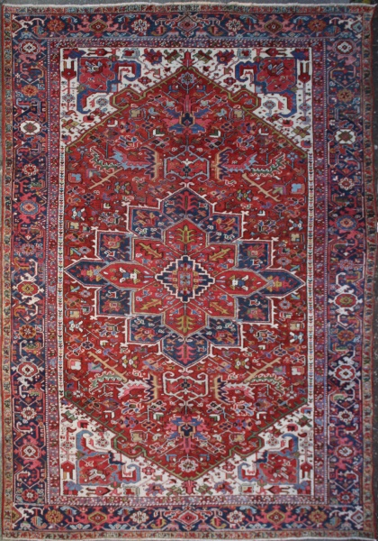 R6050 Antique Heriz Carpet