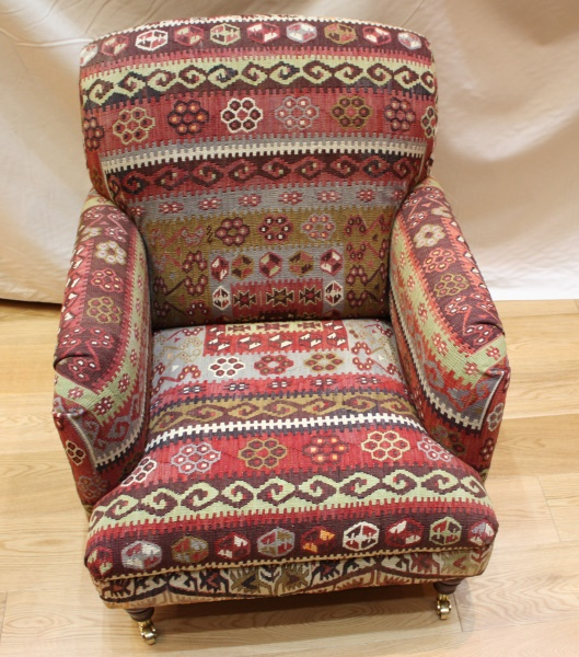 Antique Howard Kilim Chair, View One Of The Most