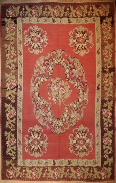 R4154 Antique Karabagh Kilim