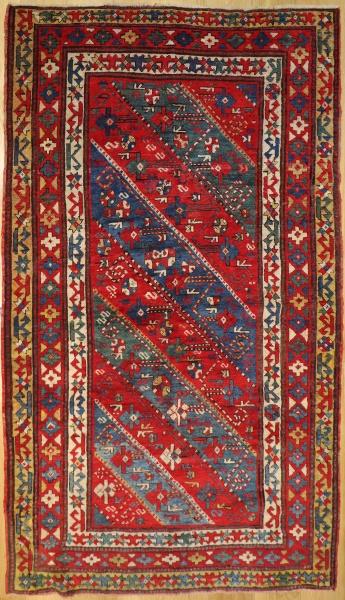 R9385 Antique Karabagh Rug