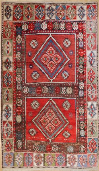R7655 Antique Kazak Carpet