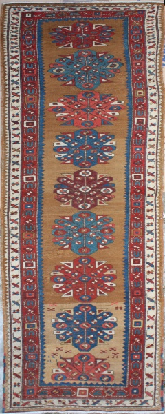 R2124 Antique Kazak Carpet Runner