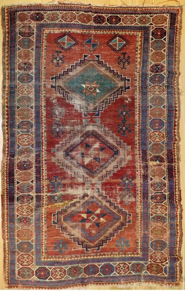 R2837 Antique Kazak Carpets