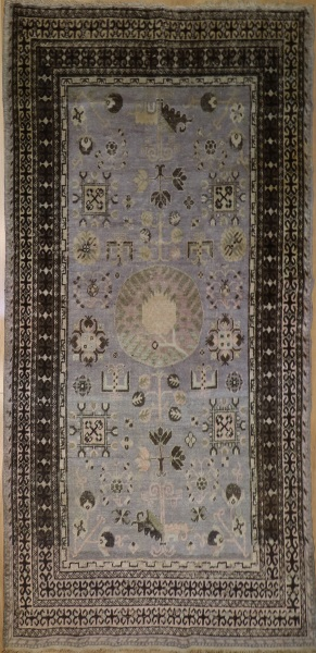 R5408 Antique Khotan Rug