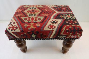 R7017 Antique Kilim Footstool
