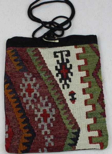 Antique Kilim Handbag H42