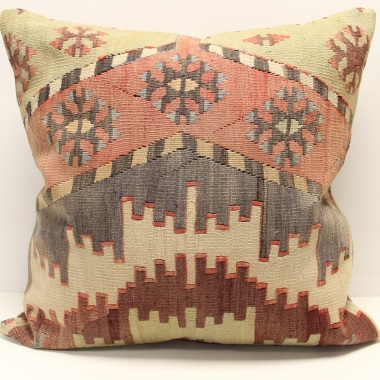 XL343 Antique Kilim Pillow Cover