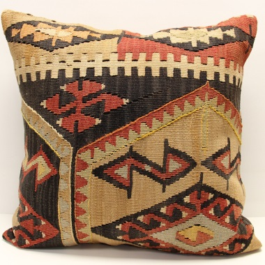 XL117 Antique Kilim Pillow Covers