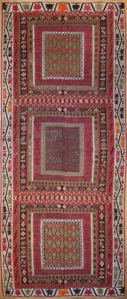R4959 Antique Kilim Rug