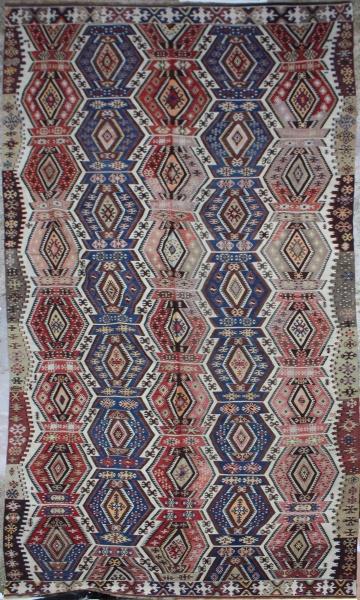 R4162 Antique Turkish Kilim Rugs