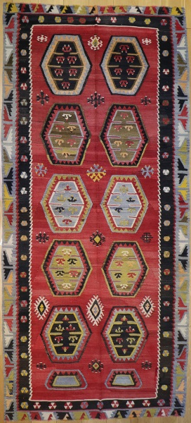 R7348 Antique Kilim Rug