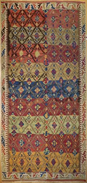 R6856 Antique Konya Kilim