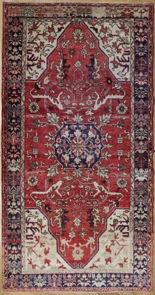 R7658 Antique Kula Turkish Carpet