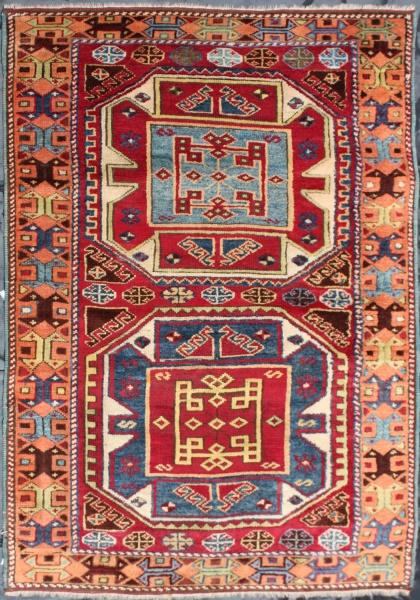 R1269 Antique Kurdish Rug