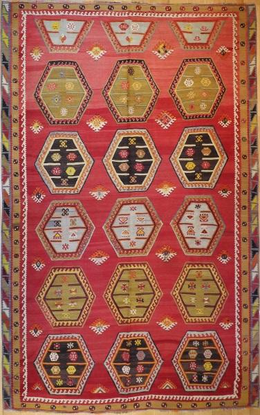 R7633 Antique Large Kilim Carpet Rugs