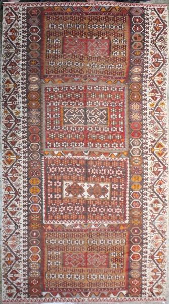 R6831 Antique Large Kilim Rug