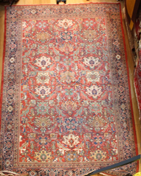 Antique Large Persian Mahal Carpet R5153