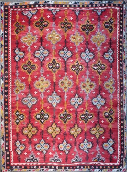Antique Large Turkish Kilim Rug Rug Store 6618